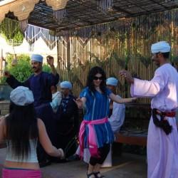 De juerga en el templo de Kom Ombo