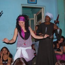 Con los Gitanos del Nilo (Lúxor)